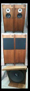 Used Cerwin Vega 12 TR Speaker Set. Dayton Speaker And Realistic