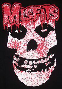 Misfits Bloody Fiend T Shirt Cee Lo Punk Skull Tee SZLG