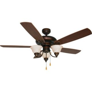 aloha breeze ceiling fan bronze finish 52in new northern tool item