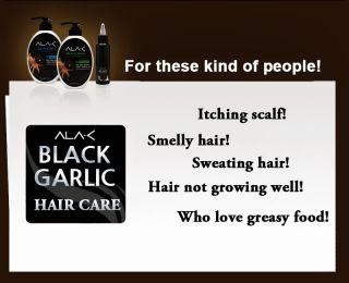 Ala C Black Galic Hair Conditioner Halal Certificated for Muslim