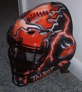 Texas Longhorns Catchers Mask Rawlings CFA2 Youth New