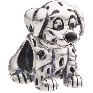 Authentic Chamilia Disney Dalmatian Dog Pet Animal Bead Charm Bracelet