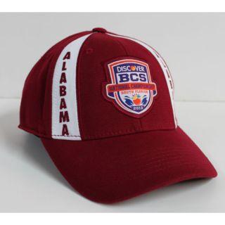Tide 2013 Discover BCS National Championship Game 1FIT Cap   Crimson