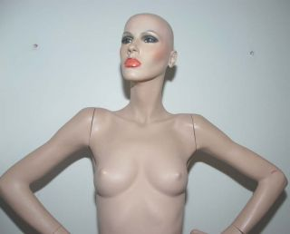 Vintage & Rare ADEL ROOTSTEIN Tall/Thin Mannequin Free/Ship