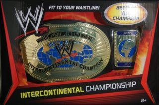 WWE Intercontinental Championship Title Belt