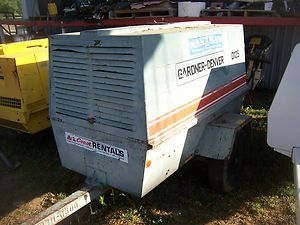 Gardner Denver 125CFM Diesel John Deere Powered Compressor