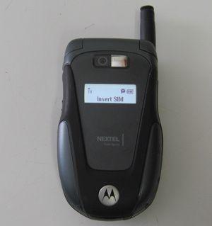 Motorola ic602 Buzz Sprint Nextel Hybrid Cell Phone Home Car Chargrs