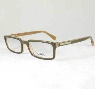 Chanel 3134 Q Eyeglasses Frame Crystal White Leather RX