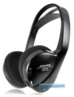 ALPINE SINGLE SOURCE FOLD FLAT 1 CHANNEL WIRELESS HEADPHONES W/ AUTO