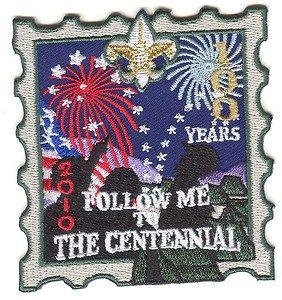 Boy Cub Eagle Scout Follow Me To The Centennial Emblem 2010 Brand New