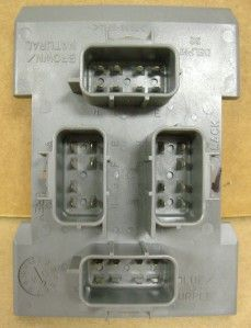 GMC Chevy Tail Light Combo Junction Box 15304995 New Chevrolet Hummer