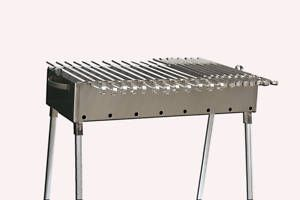 Stainless Steel Charcoal Grill Kebab BBQ 13 5x30
