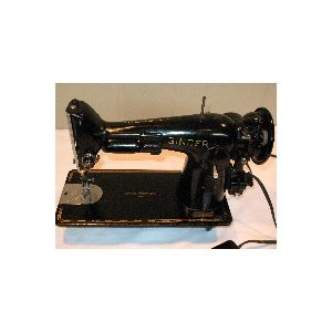 Singer Model 201 2 Sewing Machine With Foot Pedal