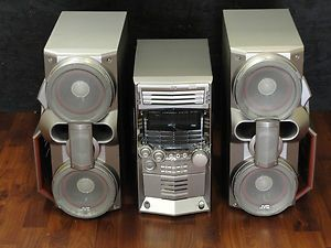 JVC HX Z3 Shelf CD Cassette Stereo System