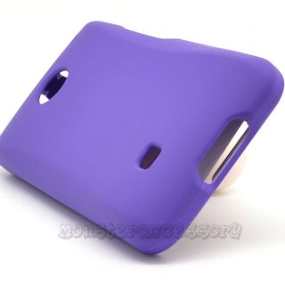 PURPLE HARD CASE COVER FOR ZTE CHASER VM2090