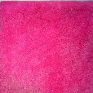 Pottery Barn Kids Chamois Crib Sheet HOT Bright PINK Nursery Baby