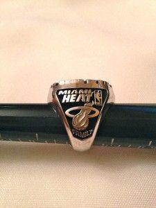 2006 Miami Heat NBA World Championship Ring Authentic Jostens 10K Ring