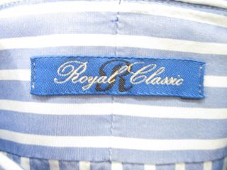 Lot 2 Cheltenham Royal Classic Blue Dress Shirts 16 41