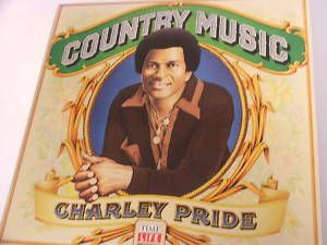 Vintage LP Time Life Charley Pride Country Music