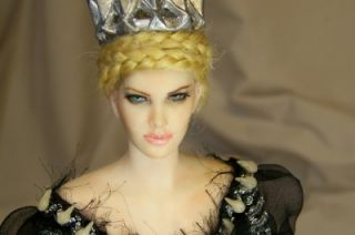 OOAK Evil Queen Charlize Theron Fairy Art Doll Sculpture Adsg Iadr
