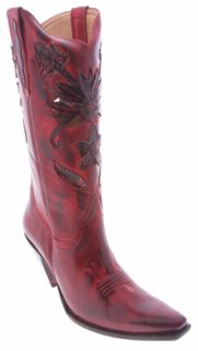 LUCCHESE Scarlet I4744 BOOTS Womens 9.5 B WESTERN Charlie 1 Horse $399