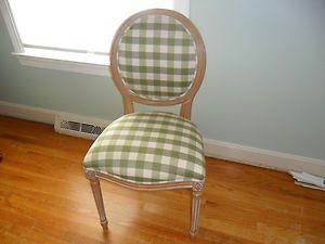 Ethan Allen Josephine Side Chair Mint