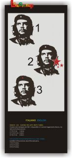 Adesivi Adesivo Moto Auto Tuning Stickers Che Guevara