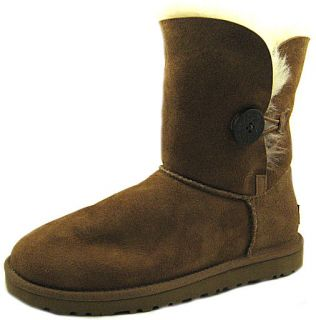 NWD UGG Australia Womens Bailey Button Chestnut Shoes 8