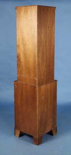 Mahogany English Antique Style Corner Cabinet Hutch Cupboard Free