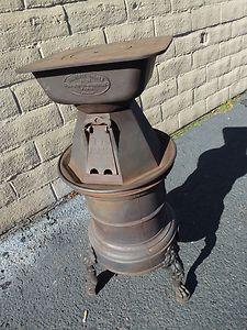 Century French Laundry Stove Sad Iron Heaters Wash Tub Heater on top