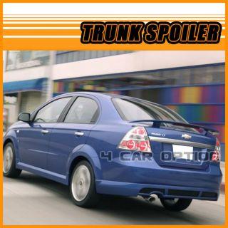 Chevrolet Aveo 4D 07 10 OE Sty Trunk Spoiler Wing Painted WA402N Urban