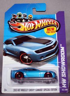Hot Wheels Showroom 2013 HW Chevy Camaro Special Edition