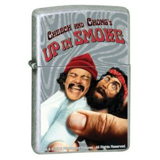 Cheech Chong Up in Smoke Movie Paramount Pictures Street Chrome Zippo