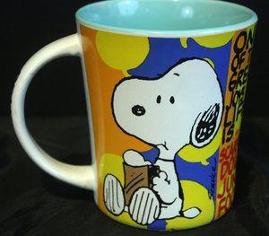 Peanuts ♥ Snoopy Coffee Mug Cup Charles Schulz Gibson