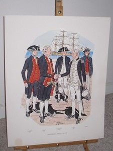 Charles Mcbarron Cuntinental Navy 1776 77 Military Historians Art