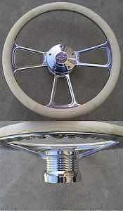 CHEVY TRUCK S 10   69 94 Chevy PINE unpaint WOOD BILLET STEERING WHEEL