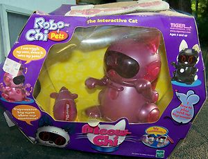 MEOW CHI ROBO CHI PET THE INTERACTIVE CAT NEW IN BOX NEVER OPENED