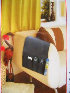Chair Sofa TV Remote Control Organiser Pouch Pockets