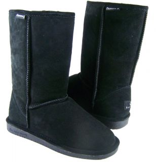 New in Box Womens Bearpaw Emma Black 10 Tall Snow Boots Shoes 610W 5