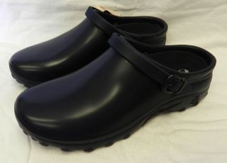 Cherokee Rockers Light Clogs Nursing Chef Uniform Shoes Navy Blue Size