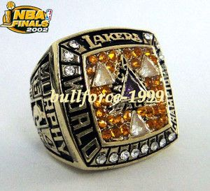 Los Angeles Lakers Murphy NBA World Championship Champions Ring