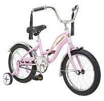 Pink Schwinn Retro Roadster Childrens Bike & Helmet NIB