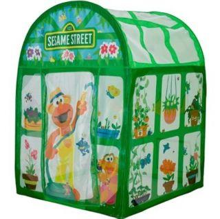 Playhut Play Tent Sesame Street Elmo World Green House