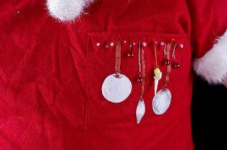 Ugly Christmas Sweater Jumper Doctor Santa Scrub Shirt