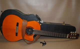 CHET ATKINS 6 STRING ACOUSTIC ELECTRIC GUITAR W/ TLA HARD CASE _8