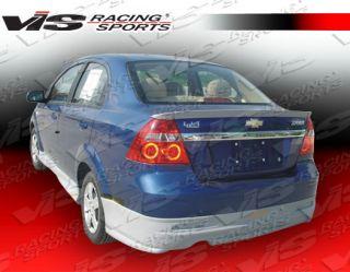 2007 2008 Chevrolet Aveo 4dr Fuzion Rear Lip Body Kit by VIS