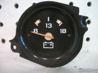 Chevy GMC Pickup Truck Interior Dash Volt Voltmeter Battery Gauge