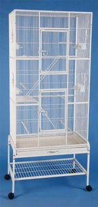 Extra Large Wrought Iron 3 Levels Small Animal Cage With Stand