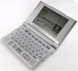 Casio Chinese English Electronic Dictionary EX Word XD L7250 Free SHIP