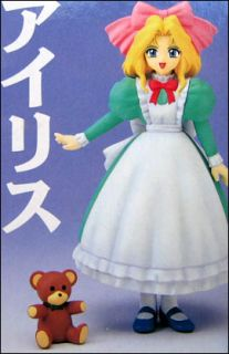 Sakura Wars Iris Chateaubriand Real Model Series #16 Action Figure CD